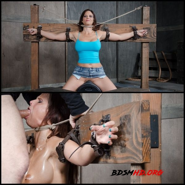 Syren De Mer experiences her most brutal sex scene ever. Neck bound, face fucked on a sybian - 2020 - HD