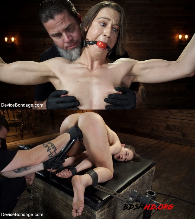 Body Builder is Restrained in Diabolical Devices - Cheyenne Jewel, Cheyenne Jewel - DEVICE BONDAGE - 2019 - HD