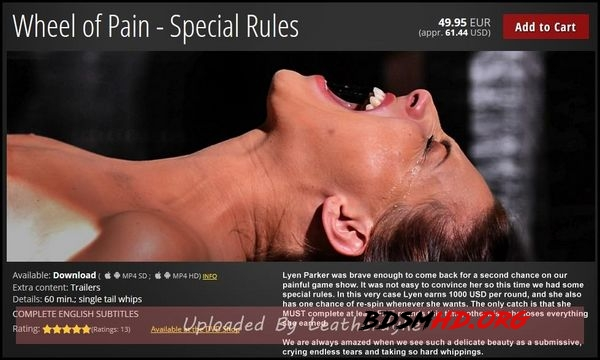 Wheel of Pain - Special Rules - 2020 - HD