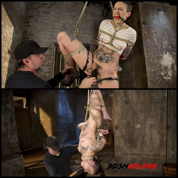 Tattooed Pain Slut Endures Brutal Bondage - Agonizing Torment - 2017 - HD