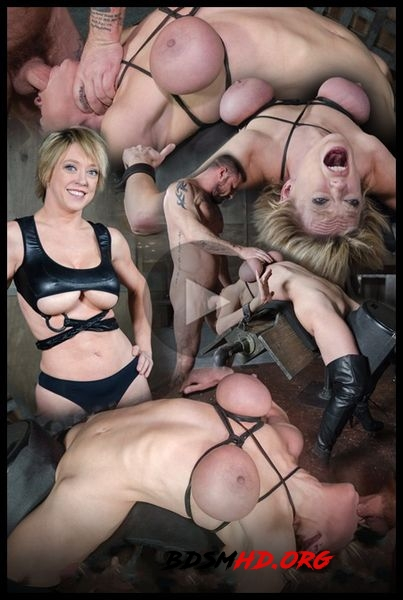 Dee Williams, our sexy resident Top, gets grabbed, severely bound, Brutally face fucked on a sybian - 2020 - HD