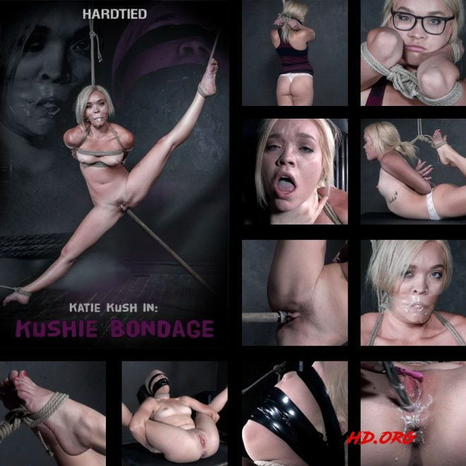 Newbie Katie Kush gets the good INSEX treatment. - Kushie Bondage,Katie Kush - HARDTIED - 2019 - HD