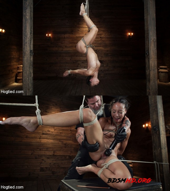 First Time Being tormented in Grueling Bondage - Alexis Tae - HOGTIED - 2019 - HD