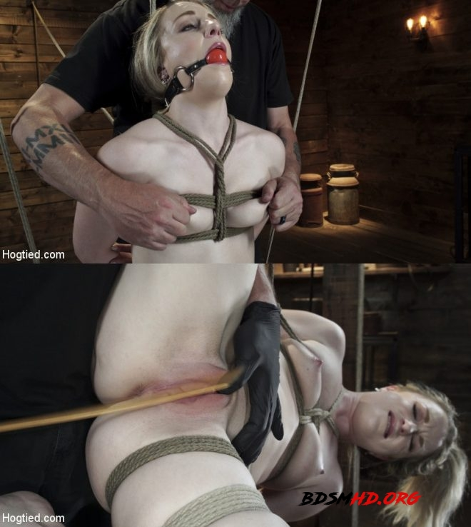 Kate Kennedy is Brutalized in Extreme Bondage and Made to Cum - Kate Kennedy - HOGTIED - 2019 - HD