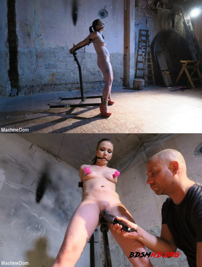 Ally Style Cleavegagged, Tit-Slapped, and Vibed! - MACHINE DOM - 2019 - HD