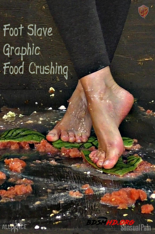 Foot Slave Graphic Food Crushing | Abigail Dupree - SENSUAL PAIN - 2019 - FullHD
