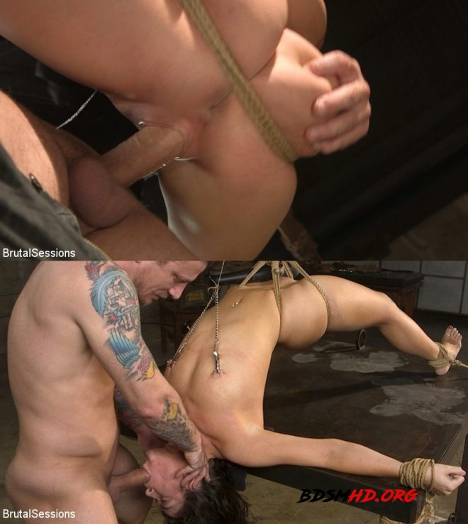 All Natural BDSM Slut Victoria Voxxx Rough Anal Brutal Bondage - Mr. Pete, Victoria Voxxx - BRUTAL SESSIANS - 2019 - HD