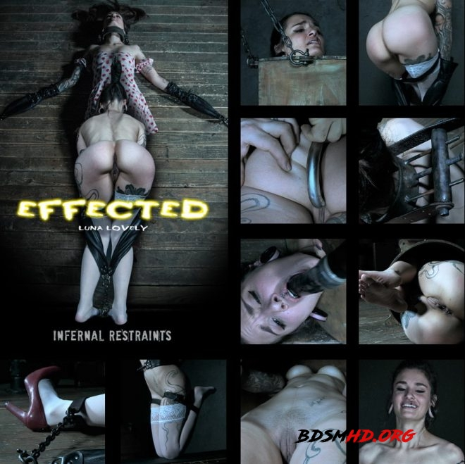Effected, Luna Lovely gets effected by her predicament. - Luna Lovely - INFERNAL RESTRAINTS - 2019 - HD