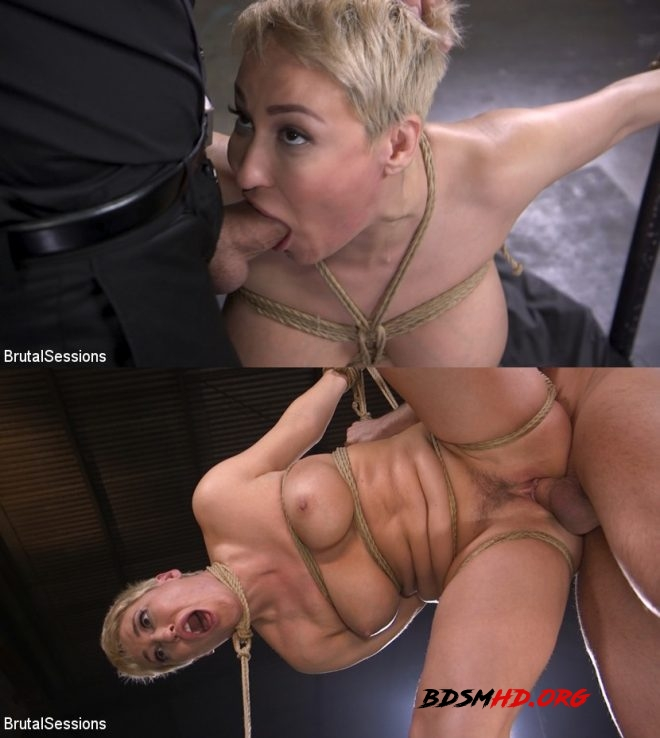 Stirling Cooper, Ryan Keely/Big Titted Goddess Ryan Keely Fucked, Disciplined in Rope Bondage - BRUTAL SESSIONS - 2019 - HD