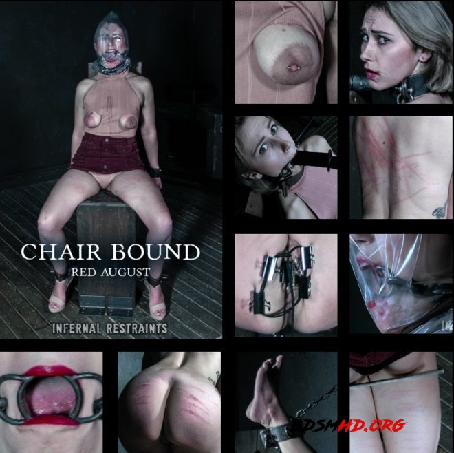 Chair Bound - Red August gets mounted to a chair. - Red August - INFERNAL RESTRAINTS - 2019 - HD