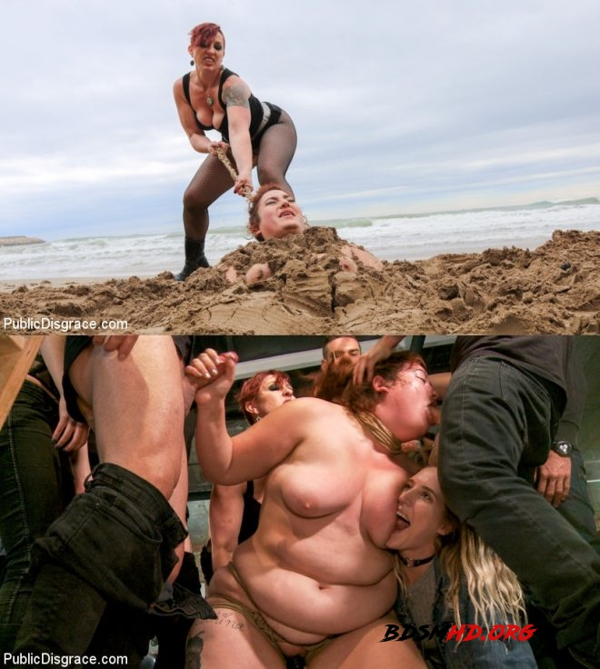 BBW Mimosa Sacrifices Every Last Dread of Dignity - Mimosa, Tommy Pistol, Mistress Kara, Max Cortes, Juan Lucho - PUBLIC DISGRACE - 2019 - HD