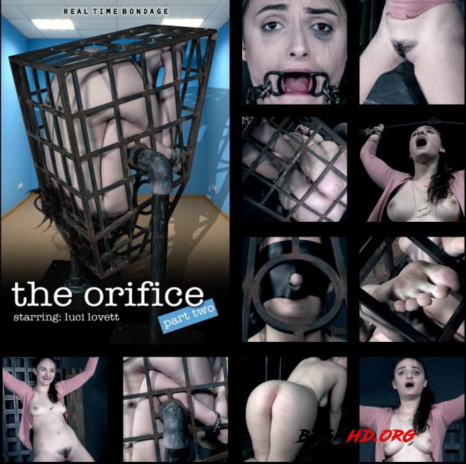 the orifice Part 2 - Luci is interrogated and spun in a cage. - Luci Lovett - REAL TIME BONDAGE - 2019 - HD