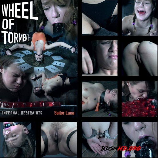 Wheel of Torment - Sailor Luna is the latest contestant on the Wheel of Torment! - Sailor Luna - INFERNAL RESTRAINTS - 2019 - HD