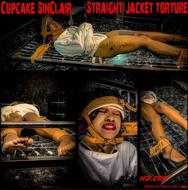 Straight Jacket Torture - Cupcake SinClair - Brutal Master - 2019 - FullHD