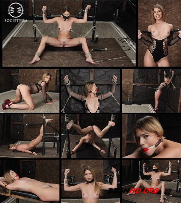 Dungeon Corp/SocietySM Leah Lea: Hot Bound Blond - 2019 - SD