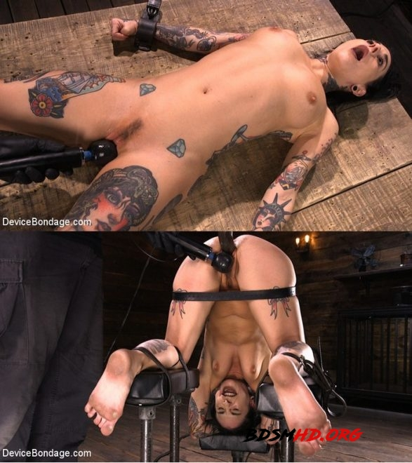Tattooed Slut Made to Cum in Grueling Bondage - Joanna Angel - DEVICE BONDAGE - 2020 - HD