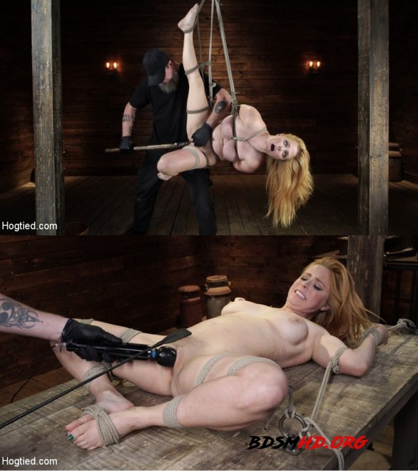 Blue-Eyed Redhead Damsel Tormented in Strict Bondage - Penny Pax - HOGTIED - 2020 - HD