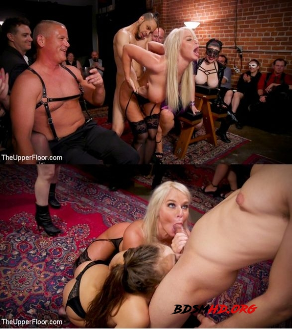 Big-Titted Anal Slave Rewarded & Fisted For Training Teen Submissive - Aiden Starr, Maestro Stefanos, London River, Gia Derza, Donny Sins - THE UPPER FLOOR - 2020 - HD