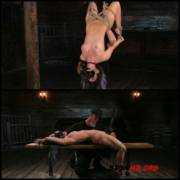 Girl Next Door Serena Blair Restrained and Made to Cum in Rope Bondage - November 9, 2017 - HD