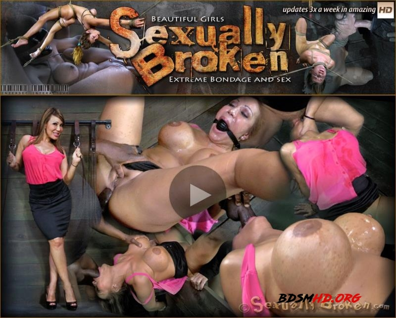 Super MILF Ava Devine is bound helpless and deeply ASS fucked - Ava Devine, Matt Williams, Jack Hammer - SexuallyBroken - 2013 - HD