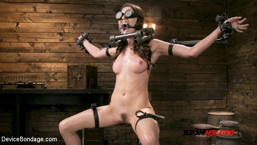 Newcomer Melissa Moore Submits to Screaming Bondage - Melissa Moore - DeviceBondage - 2017 - HD