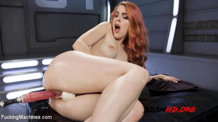 Spanish Red Head Machined Fucked Into Uncontrollable Orgasms!! - Amarna Miller - FuckingMachines - 2017 - HD