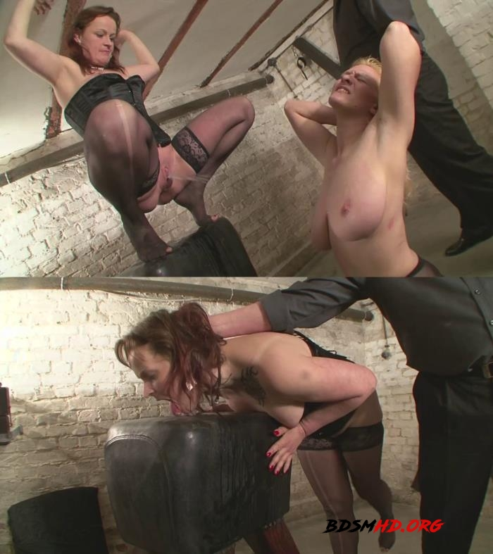 Painful torture for the novice slave girls Candy and Valerie Pt.4 - 2016 - HD