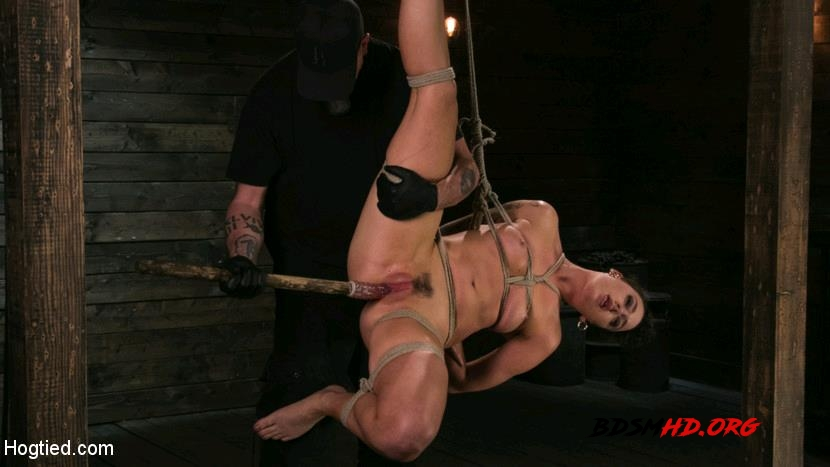 Pain Slut Lilith Luxe Cums Relentlessly from Torment and Rope Bondage! - Lilith Luxe - HogTied - 2017 - HD