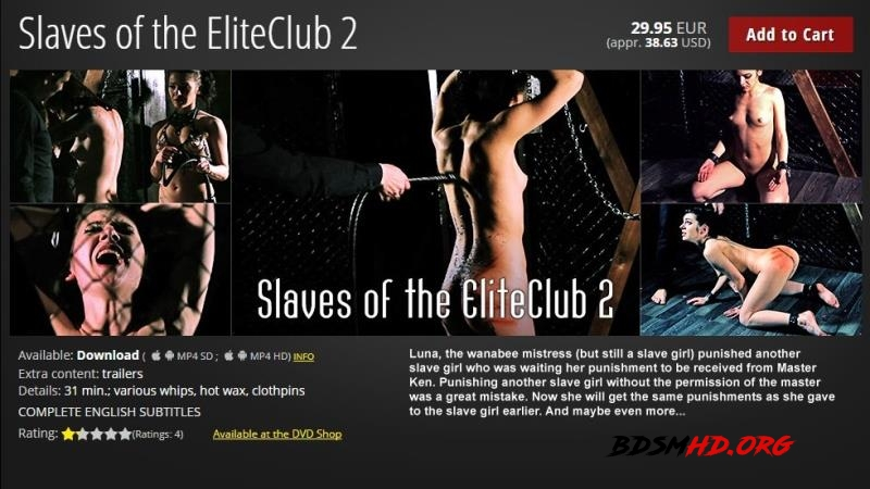 Slaves of the EliteClub 2 - Torture - ElitePain - 2017 - HD
