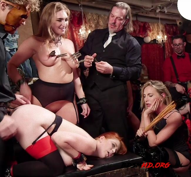 Squirting Slave Sluts Inspire A BDSM Halloween Orgy - Penny Pax, Skylar Snow, Michael Vegas, Mona Wales - Kink, TheupperFloor - 2017 - HD
