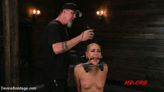 Sex Slave Lilith Luxe Humiliated with Head Shaving and Coerced Orgasms - Lilith Luxe - DeviceBondage, Kink - 2017 - HD