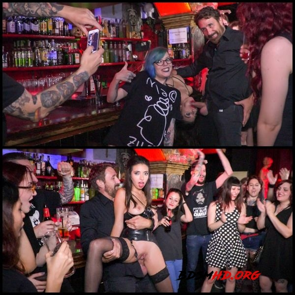 Underground Goth Club turns into a Wild Fuck Party - 2016 - HD