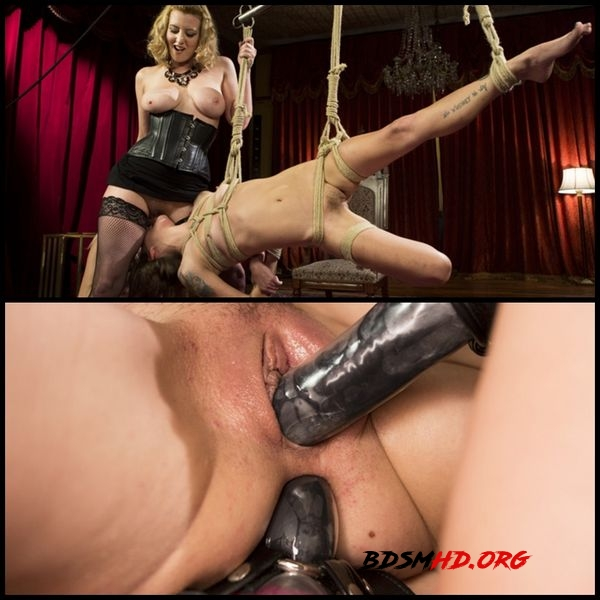 Date Night With a Dominatrix: Lesbian couple submits to Cherry Torn! - 2020 - HD