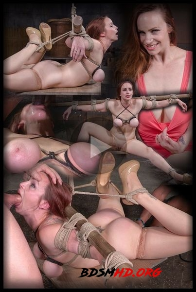 Busty Bella Rossi BaRS show with epic BBC deepthroat, tited tits and strict challenging bondage - Bella Rossi - 2020 - HD