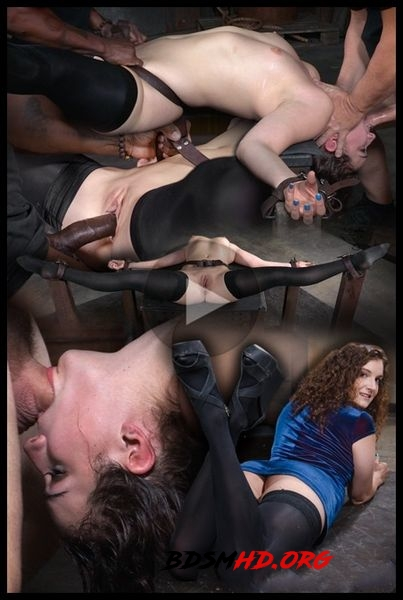 Epic conclusion of Endza's BaRS show, rough fucking by BBC in severe splits, bondage and deepthroat! - 2020 - HD