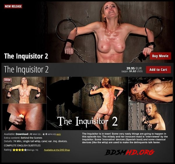 The Inquisitor 2 – BDSM, Spanking - 2020 - HD