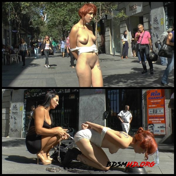 Spanish redheaded floozy beautifully humiliated in Madrid - 2020 - HD