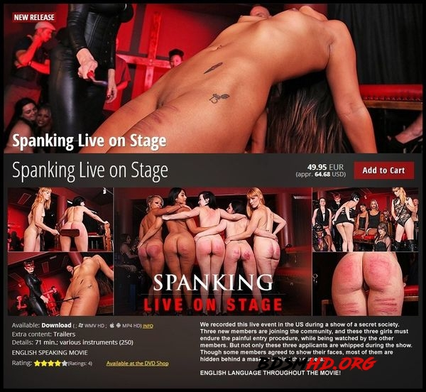 Spanking Live on Stage - 2020 - HD