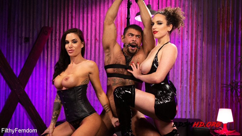 Hard Fucked in the Pussy and Cum in the Mouth - Gia DiMarco, Mistress Blunt, Draven Navarro - FilthyFemdom - 2020 - HD