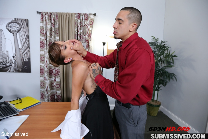Hard Fucked in the Pussy and Cum in the Mouth - Dakota Vixin, Bruno Dickemz - Submissived - 2020 - HD