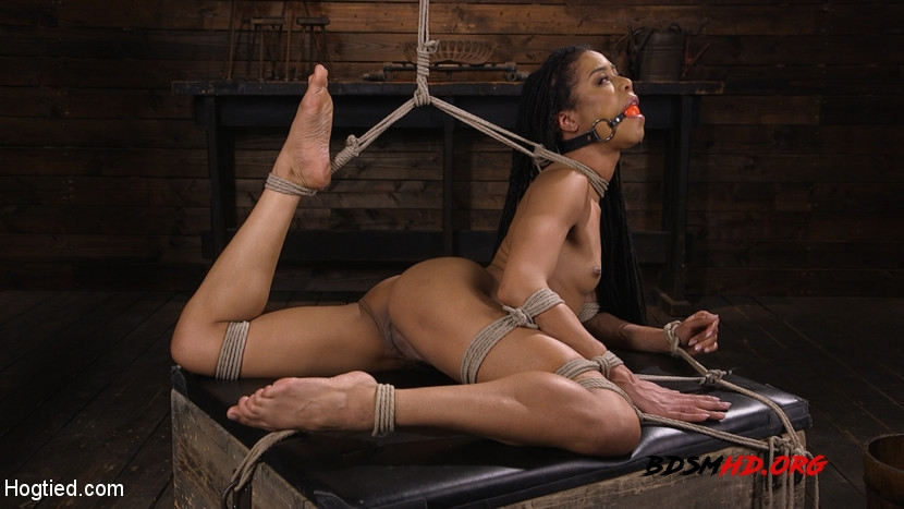 Torture Domination and Incredible pain - Kira Noir - Hogtied - 2020 - HD