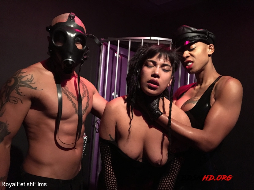 Bdsm Hardcore - Hard Fucking - King Noire, Ashley Paige, Michelle Minx - RoyalFetishFilms - 2020 - HD