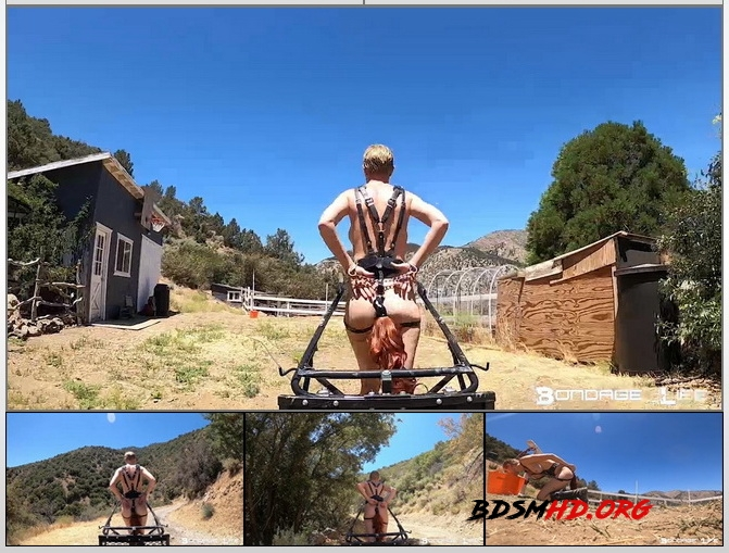 Pony Cart Ride - Rachel Greyhound - Bondage Life - 2020 - HD