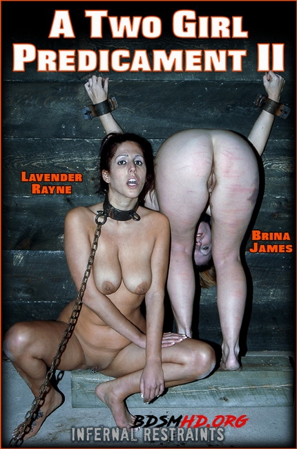 A TWO GIRL PREDICAMENT II - Lavender Rayne - InfernalRestraints - 2020 - HD