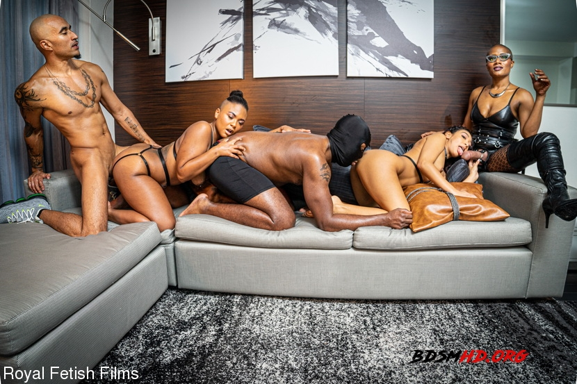 BDSM - King Noire, Jet Setting Jasmine, Sarah Lace, Avery Jane, The Boy - RoyalFetishFilms - 2020 - FullHD