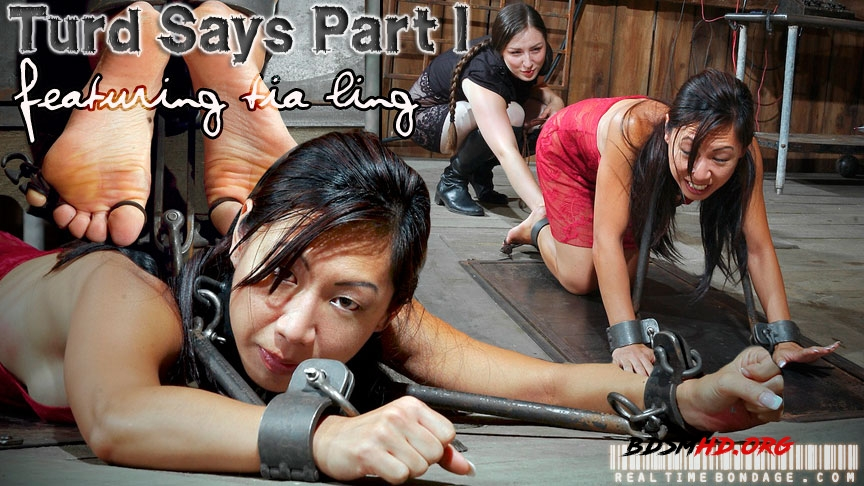 Turd Says Part 1 - Tia Ling - RealTimeBondage - 2020 - HD