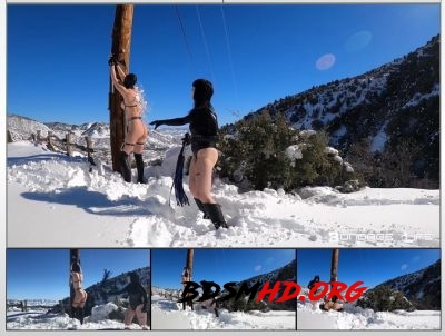 Winter Wonderland Flogging - Rachel Greyhound, Lita Lecherous - Bondage Life - 2020 - HD